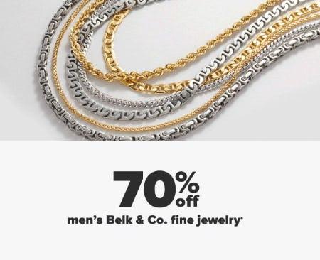 70% Off Men's Belk & Co. Fine Jewelry from Belk