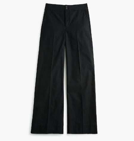 The Frankie Pant in Stretch Twill from J.Crew-on-the-island