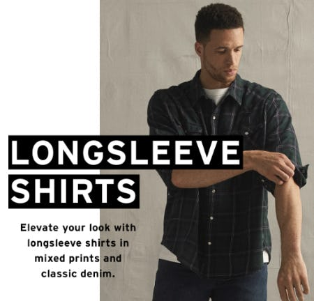 The Longsleeve Shirts from The Levi's Store