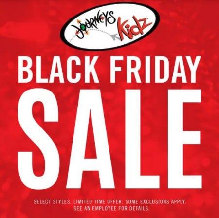 BLACK FRIDAY SALE! from Journeys Kidz
