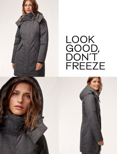 Cozy Parkas Through The Rest of Winter from Aritzia