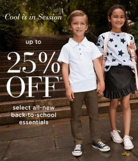 Up to 25% Off Back-To-School Essentials from Saks Fifth Avenue