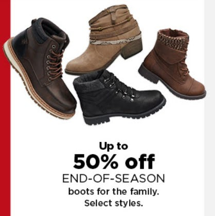 End of Season Boots Up to 50% Off from Kohl's