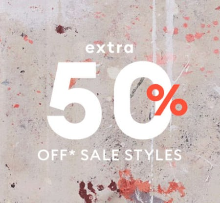 Extra 50% Off Sale from Banana Republic
