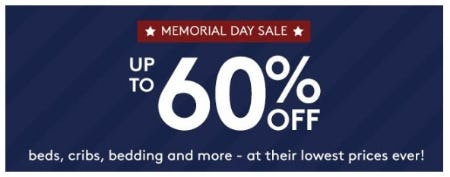 Memorial Day Sale: Up to 60% Off from Pottery Barn Kids