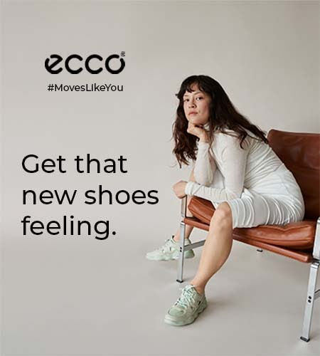 BIGGER THE SOLE, BIGGER THE STYLE from ECCO