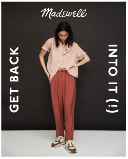 Back to the Newness from Madewell
