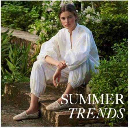 Just In: Summer Trends from Tory Burch