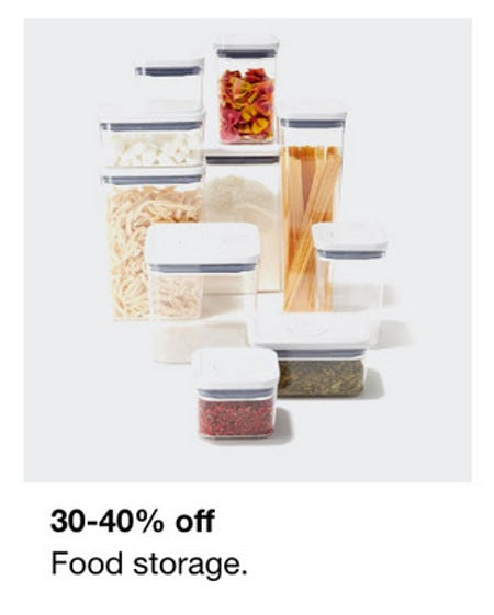 30-40% Off Food Storage from macy's