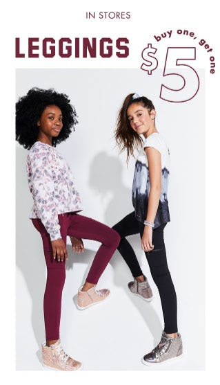 BOGO $5 Leggings