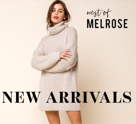 Just Arrived: West of Melrose
