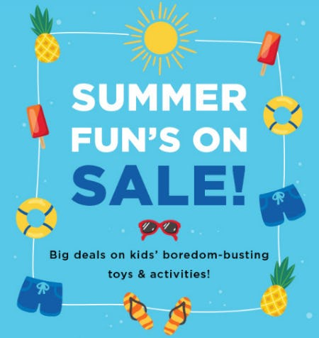 Summer Fun on Sale from Michaels