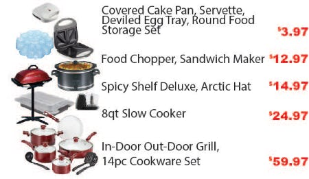Memorial Day Deals from Kitchen Collection