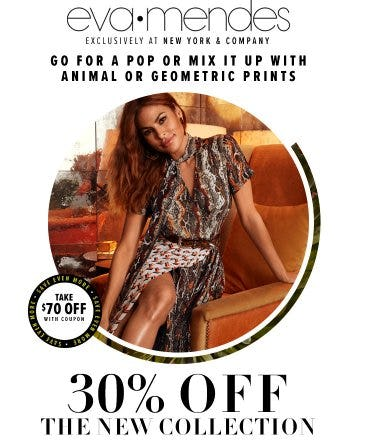 30% Off The New Eva Mendes Collection from New York & Company