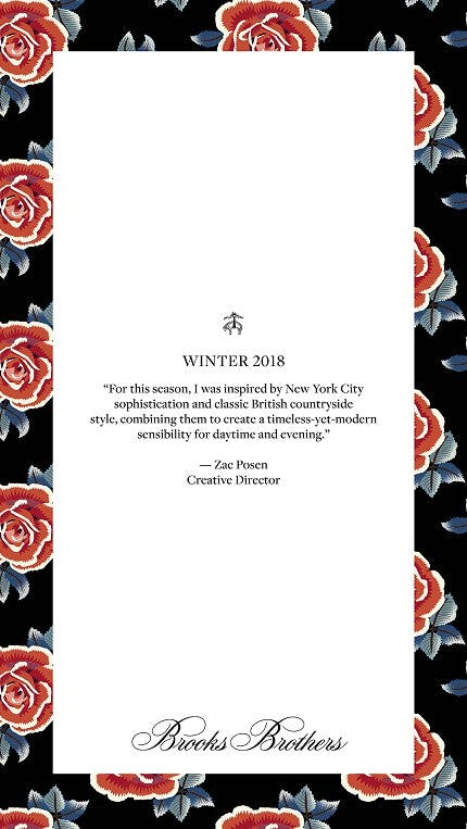 WINTER 2018 from Brooks Brothers