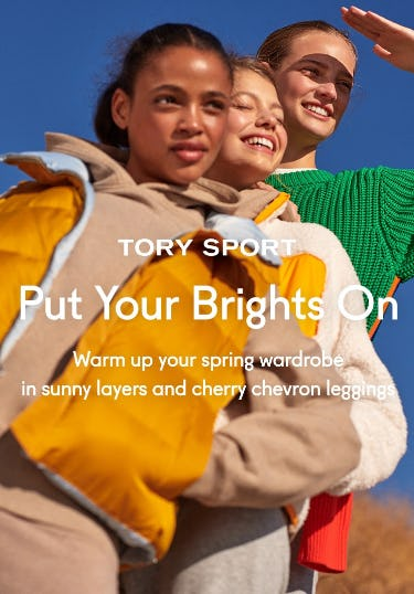 Put Your Brights On from Tory Burch