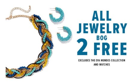All Jewelry BOG 2 Free from New York & Company
