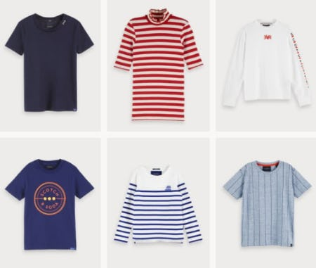 Stylish T-Shirts for on Trend Kids from Scotch & Soda