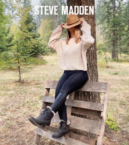 The Season of Comfort from Steve Madden