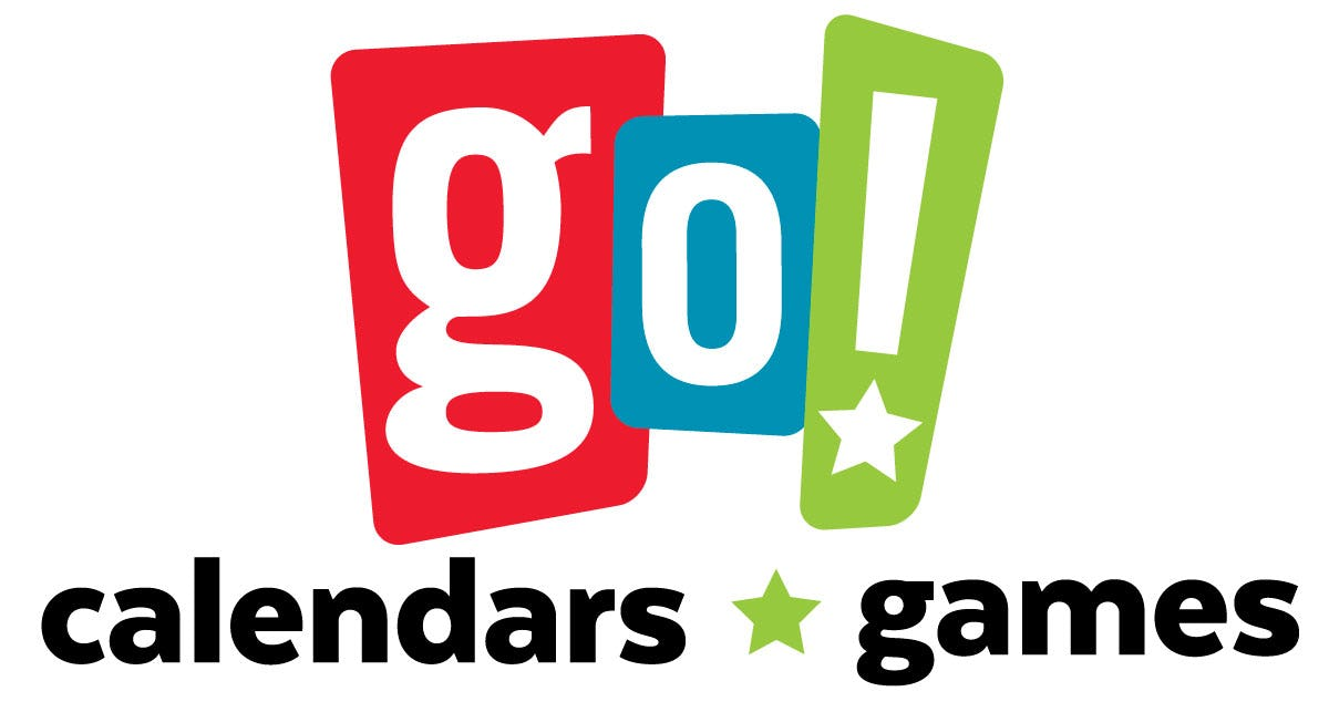 Go! Calendars and Games Logo