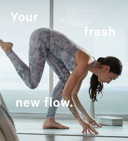 Your Fresh New Flow from lululemon