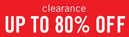 Clearance Up to 80% Off from Belk