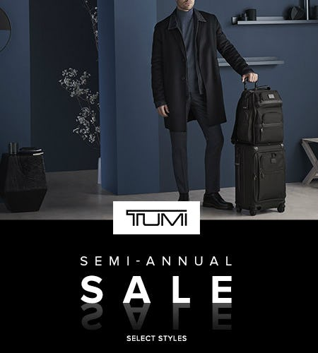 Semi-Annual Sale from TUMI