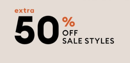 50% off Sale Styles from Banana Republic
