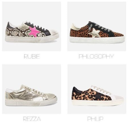 Our Best Selling Sneakers from Steve Madden