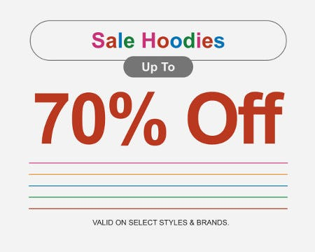 Sale Hoodies up to 70% Off from Zumiez