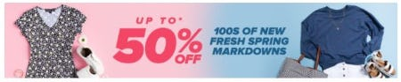 Up to 50% Off 100s of New Fresh Spring Markdowns from Francesca's
