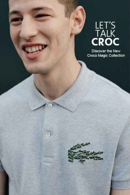 Discover the New Collection: Croco Mania from Lacoste