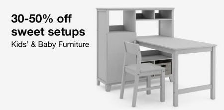 30-50% Off Kid's & Baby Furniture from macy's