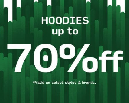 Hoodies up to 70% Off