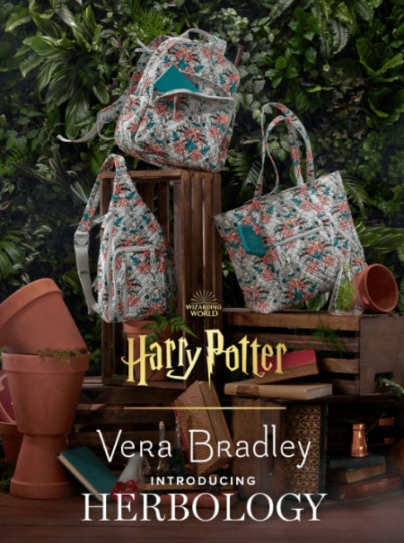 New Harry Potter™ + Vera Bradley arrivals
