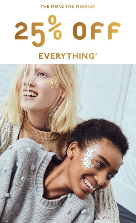 25% Off Everything from Madewell