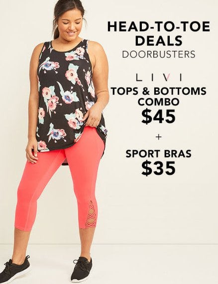 Head-to-Toe Deals from Lane Bryant