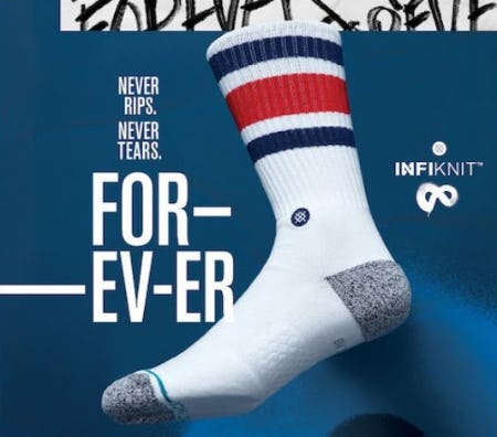 Infinitely Better: Stance Ssocks with Infiknit™ from STANCE