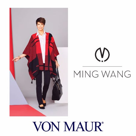 Ming Wang Hope Wrap Giveback from Von Maur
