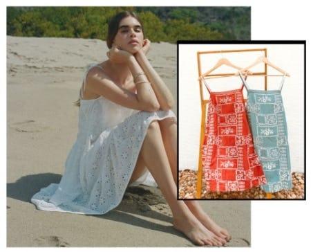 Sunset-to-Sunrise Slip-On Dresses