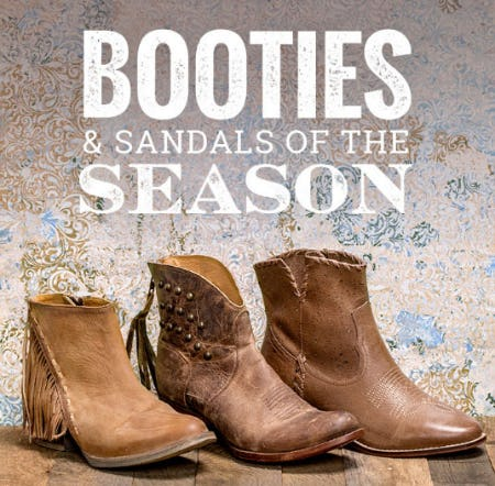 Beat The Heat With New Booties & Sandals from Boot Barn Western And Work Wear