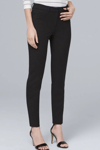 Comfort Stretch Slim Ankle Pants from White House Black Market