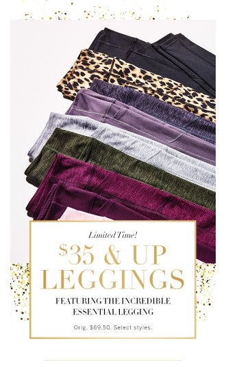 $35 & Up Leggings from Victoria's Secret