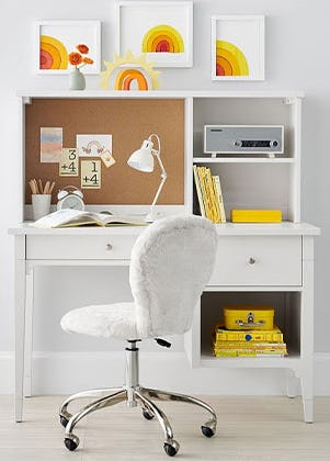 Smart Study Spaces from Pottery Barn Kids