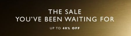 Up to 40% Off Select Merchandise from STUART WEITZMAN
