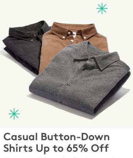 Up to 65% Off Button-Down Shirts from Nordstrom Rack