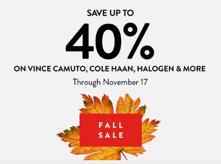 Fall Sale from Nordstrom