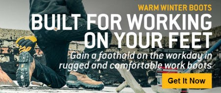 Warm Winter Boots from Carhartt