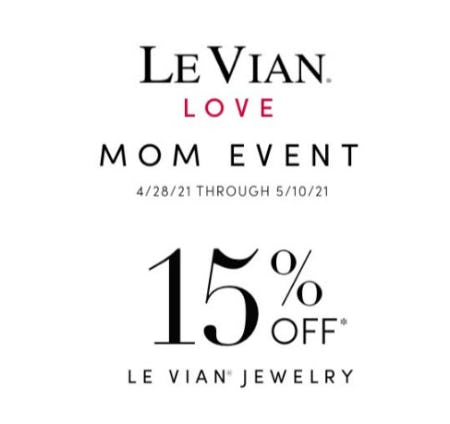 15% Off Le Vian Jewelry from Jared Galleria of Jewelry