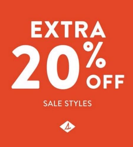 EXTRA 20% off SALE from Sperry Top-Sider